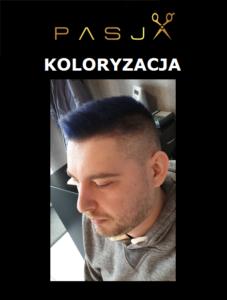 Koloryzacja - fryzjer męski - Szczecin